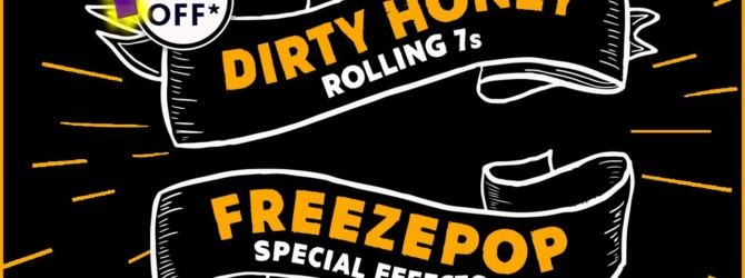 Rock Band 4 DLC – Dirty Honey – Rolling 7s | Freezepop – Special Effects