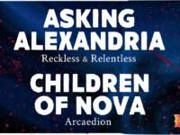 Rock Band 4 DLC – Asking Alexandria – Reckless & Relentless |  Children of Nova – Arcaedion